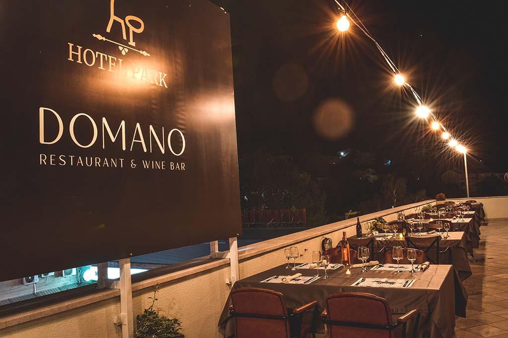Domano rooftop restaurant